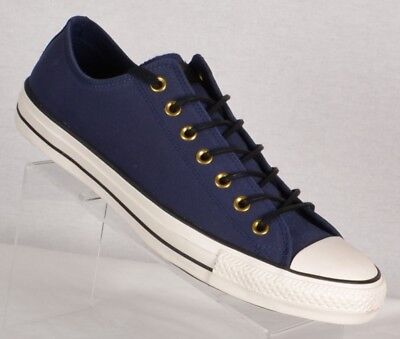 8e888a2d3bda Converse Mens Chuck Taylor All Star Obsidian Sneakers Size 12M Blue Leather  Low