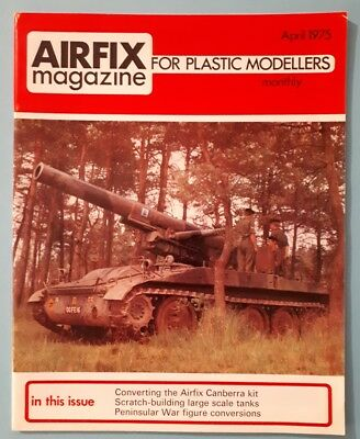 *AIRFIX* magazine April 1975 for plastic modellers/ MONTHLY