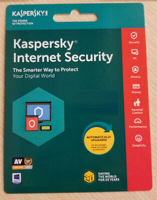 Kaspersky Internet Security 2020 3PC 2 Year NEXT DAY DELIVERY Send Key Free Post