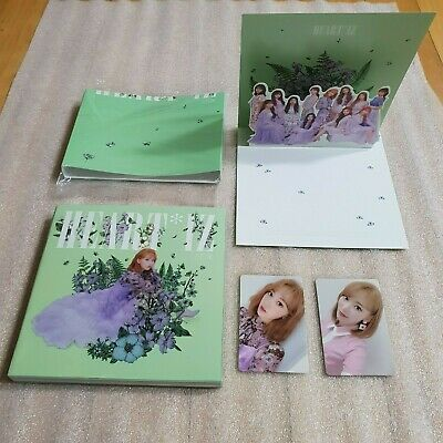 IZ*ONE HEART*IZ 2nd Mini Album Violeta ver. SAKURA Full Set IZONE HEARTIZ