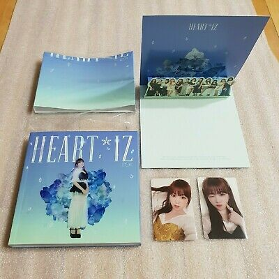 IZ*ONE HEART*IZ 2nd Mini Album Sapphire ver. NAKO Full Set IZONE HEARTIZ