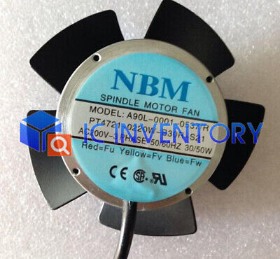 1PCS New A90L-0001-0537/R Replacement NBM Fan for Fanuc Spindle Motor
