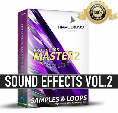 SAMPLES LOOPS FX (2nd Edition) Producer EFFECTS SFX Bundle Sounds PRO AUDIO WAV