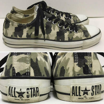 8c93b5a67c552a Men 8.5Us 90S Converse Usa Made In Vintage All Star Urban Camouflage