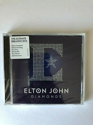 Elton John - Diamonds [CD] THE ULTIMATE GREATEST HITS.. 2 DISC  NEW AND SEALED