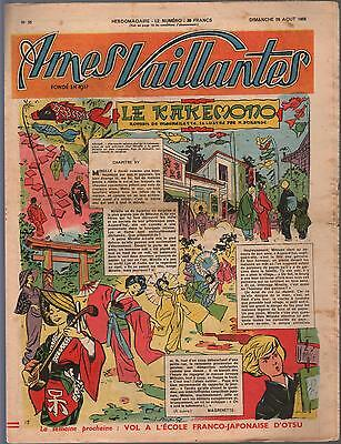 Souls Vaillantes.26 August 1956.union Writings Workers Barons Bn France