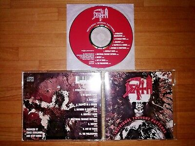 Death - Individual Thought Patterns Relativity ‎- 88561-1168-2 US Original Press