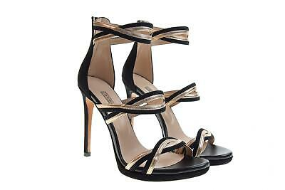newest collection 5a40d 8fa32 ALBANO SCARPE DONNA sandali tacco alto 2219 NERO/RAME P19