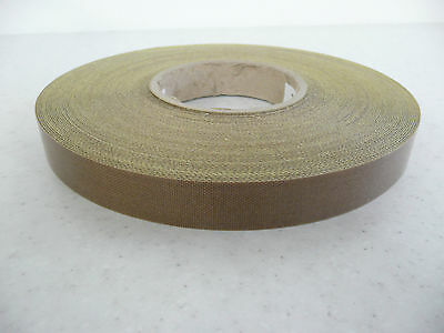 heat /vacuum sealer/packer PTFE self adh glass Teflon tape 25 x 0.25mm * per mtr