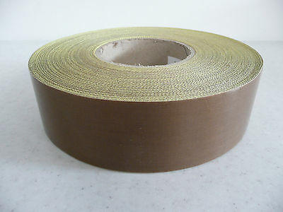 heat /vacuum sealer/packer PTFE self adh glass Teflon tape 50 x 0.25mm * per mtr