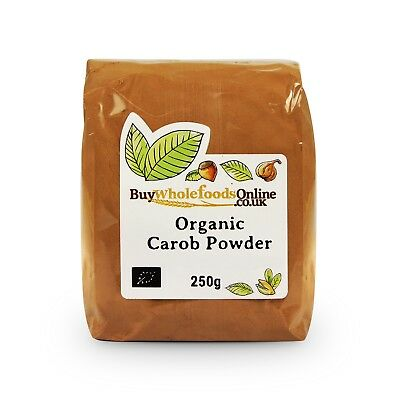 Organic Carob Powder 250g | Chocolate | Buy Whole Foods Online | Free UK P&P