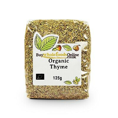 Organic Thyme 125g | Buy Whole Foods Online | Free UK P&P