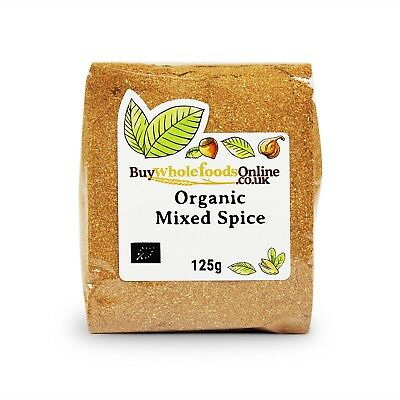 Organic Mixed Spice 125g | Buy Whole Foods Online | Free UK P&P