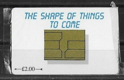 Isle of Man Manx Telecom Phonecard 1994 Shape of Things to Come (Sealed)