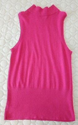 2296d9ac5f8d5 Peck & Peck Women's Sleeveless Mock Neck Knit Top Pink Sz Large Stein Mart