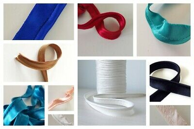 3m Satin Bias Piping Cord Flange Tape for Binding Covered Insertion Tap