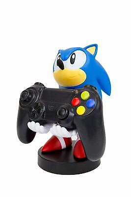 """Official Sonic the Hedgehog Cable Guy 8"""" PS4 / Xbox One Controller, Phone Holder"""