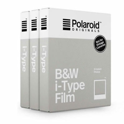 Polaroid Originals B&W Film For Polaroid i-Type Cameras - TRIPLE PACK