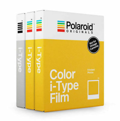 Polaroid Originals i-Type Core Film Triple Pack (2x Colour Film, 1x B&W Film)