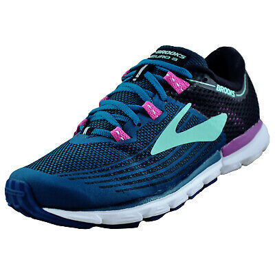 Brooks Neuro 3 Womens Running Shoes Blue Cushioned Neutral Trainers