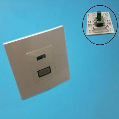 Wall Face Plate USB 3.0 Charging Jack Port + HDMI HD 2.0 Multimedia Socket Panel