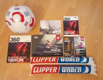 Clipper Round The World Race 2017 / 2018 - Deluxe Souvenir Pack - Sailing