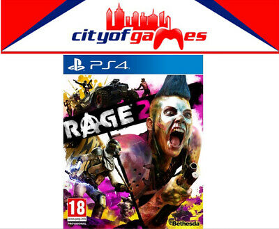 RAGE 2 PS4 Game Brand New & Sealed In Stock