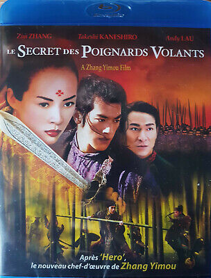 Le Secret Des Poignards Volants  Blu Ray   Neuf Sous Cellophane