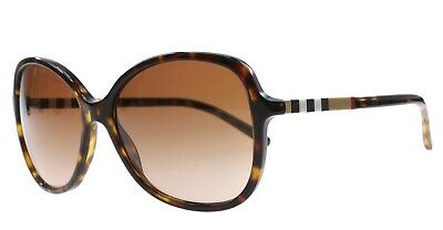a73d1baff5cf BURBERRY B 4197 3002 13 Sunglasses Polished Tortoise   Classic Plaid ~  w Case