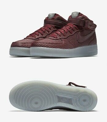reputable site 67fd6 c07a5 New Men s Nike Air Force 1 Mid  07 Lv8 804609-603 Team Red