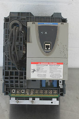 Schneider Electric Telemecanique Atv-61Hd11-N4 15Hp 460V Speed Drive