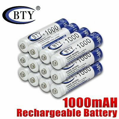 1-16Pcs  AAA 1000mAh AA 3000mAh 1.2V Ni-MH Rechargeable Battery for Cell RC Toy