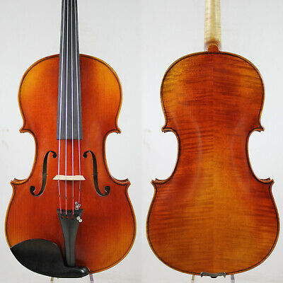 Antique Vanish!A Strad Viola 16 inch Copy! #5980 Deep Warm Tone