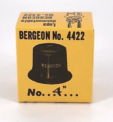 BERGEON 4422 N.4 [ 2,5X ZOOM ] magnifier lente LUPA loupe Relojero NEW 3WC-