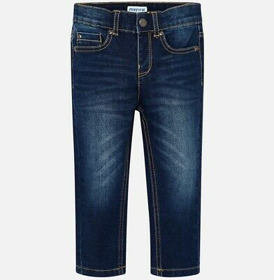 New Boys Mayoral Regular Fit Jeans , Age 2 Years , (46)
