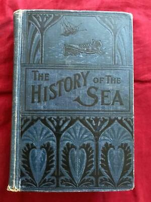 1877 OCEAN MARITIME SEA HISTORY Ship SHIPWRECKS NAUTICAL PIRATE Shark Sail DIVER