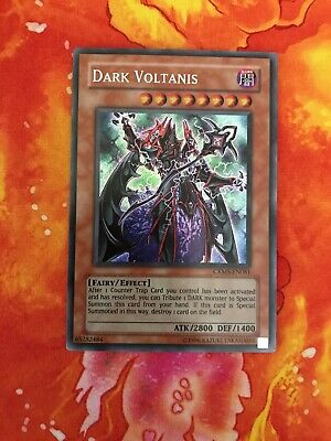 Secret Rare CRMS-EN081 Unlimited Edition x1 Lightly Played Dark Voltanis