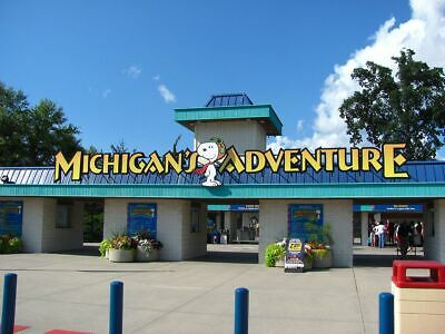 (4) Four Tickets to Michigan's Adventure / Fast Shipping / Low Price