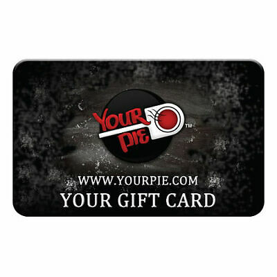 Fifty $50 Dollars Your Pie Multi-Pack Gift Cards ( 5x$10 Gift Card)