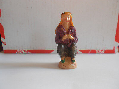 Caganer Catalan Traditional Pooping Figure Spain Christmas Nativity Figura Belen