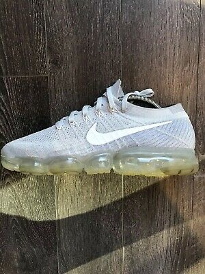 0c24b53847374 Nike Air Vapormax Flyknit Pure Platinum Grey 849558-004 Mens 10.5 Left Shoe  Only