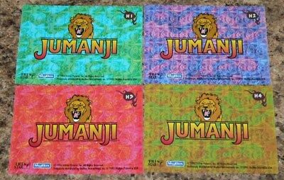 . Jumanji by Skybox in 1995. COMPLETE 10 CARD INSERT set. NM/Mint condition.