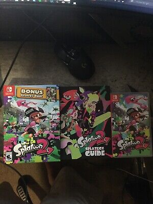 Splatoon 2 Starter Edition w/ Guide (Nintendo Switch, 2017)