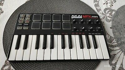 AKAI PROFESSIONAL MPK mini LAPTOP PRODUCTION KEYBOARD USB CONTROLLER PRO