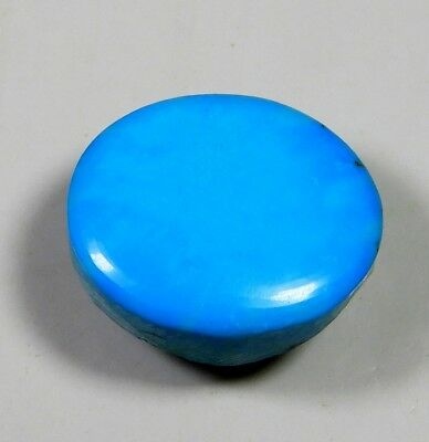 17Ct Natural Ring Size Sky Sleeping Beauty Turquoise Oval Cabochon Gemstone A128