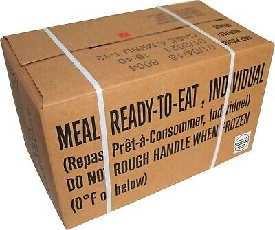 2021 Genuine US Military MRE (Meals Ready-To-Eat) Inspection Date - MRE