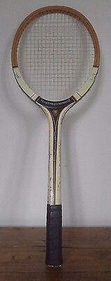 lovely vintage wooden tennis racket, antique, tennis racquet