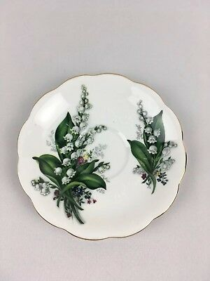 Royal Albert Bone China England Lily of the Valley Saucer