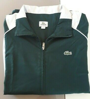 2cd26560410 VESTE DE SURVETEMENT LACOSTE TAILLE 3 verte bleu blanche VINTAGE COLLECTOR