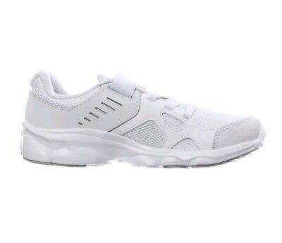 A1/22* Under Armour Boys Junior White PS Pace RN AC Trainers Uk 2
